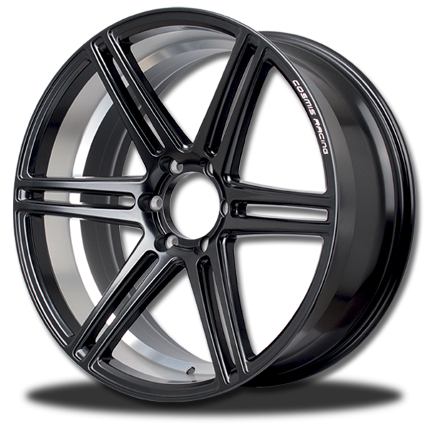 P&P Superwheels RaceBlack-6D color ((N )) BLK-XZ/M3