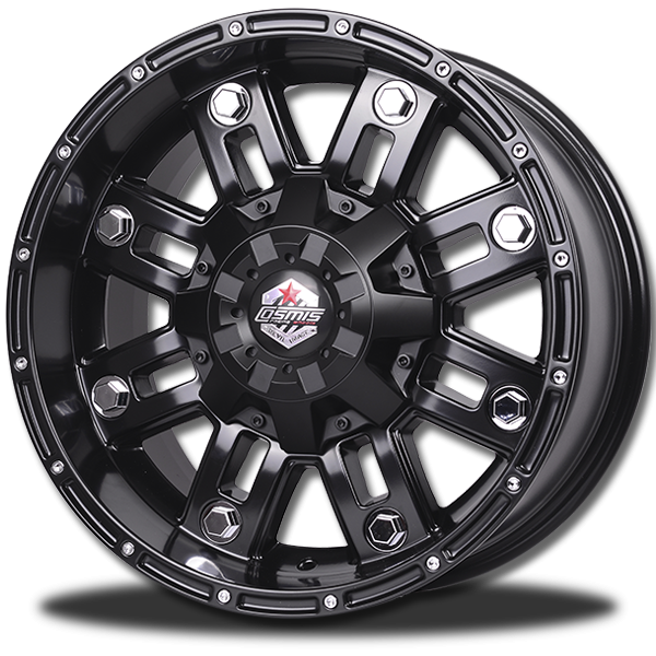P&P Superwheels Devil 8D color BLKM5