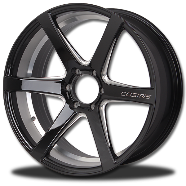 P&P Superwheels RaceBlack-6F color ((N))BLK-XZ/M3, ((N))BLK-XZ-W