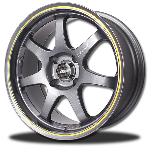 P&P Superwheels C7 color GM/JY, BR/JY, B/JR, B/JY