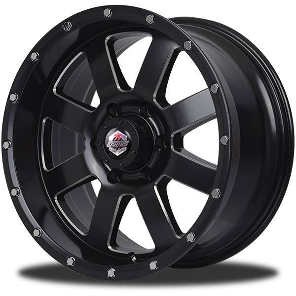 P&P Superwheels Devil 8F color BLK-W/M5