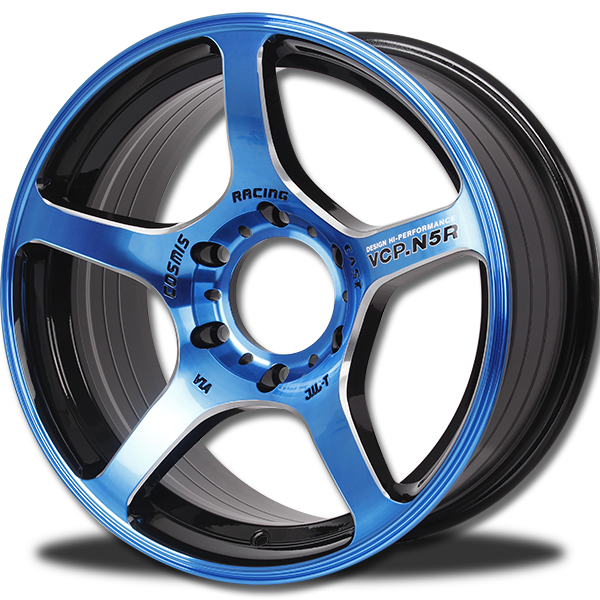 P&P Superwheels VCP.N5R 17Inch Anodized color