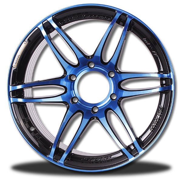 P&P Superwheels MR-II Anodized color