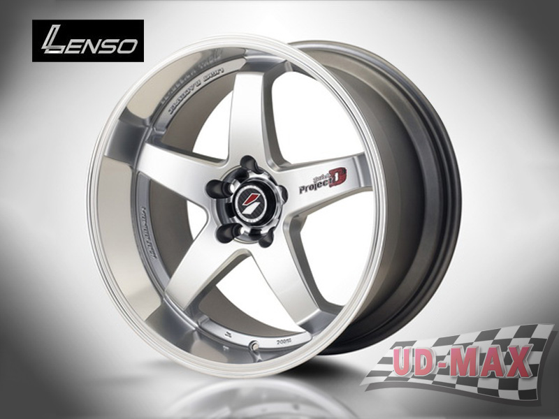 LENSO Project-D1_update color Hyper Silver/Mirror Lip