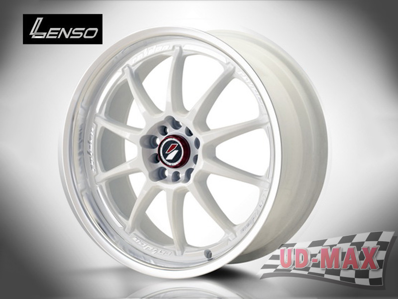 LENSO Project-D6 color White /Mirror Lip