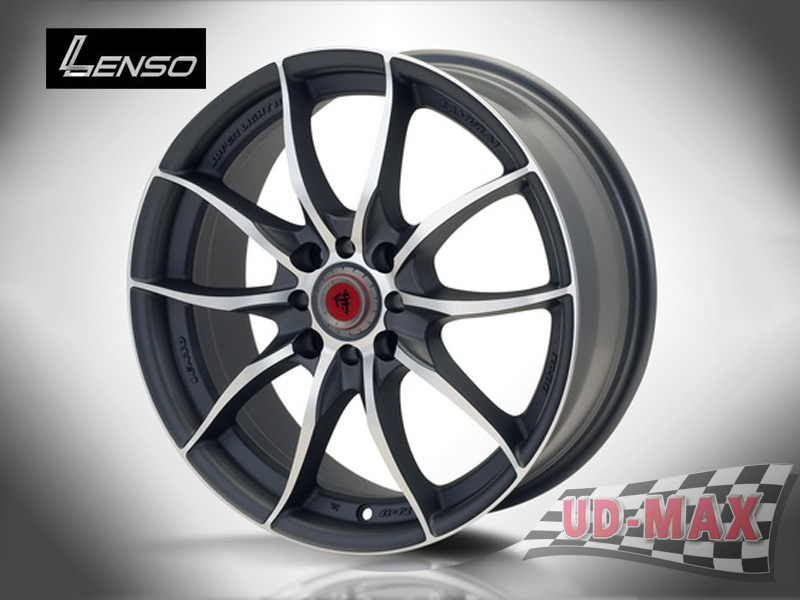 LENSO SAMURAI SC08 color Dark Gray /S
