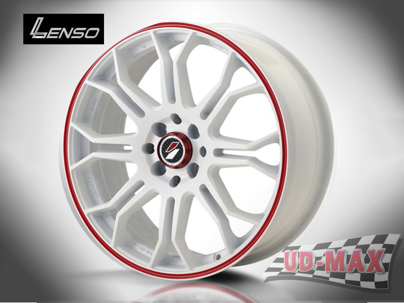 LENSO Project-D7 color White /Red Line