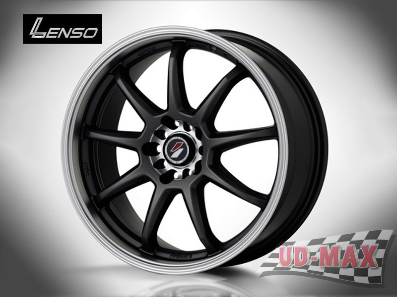 LENSO Project-D -X color Hyper Black