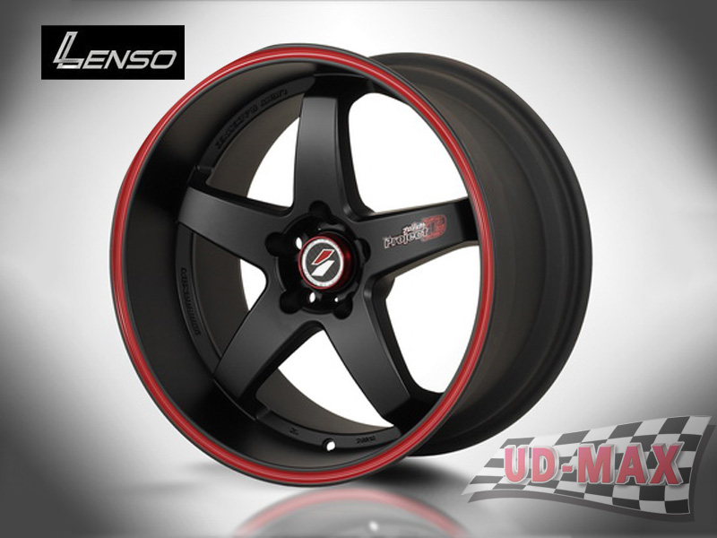 LENSO Project-D1_update color Matt Black/Red Line