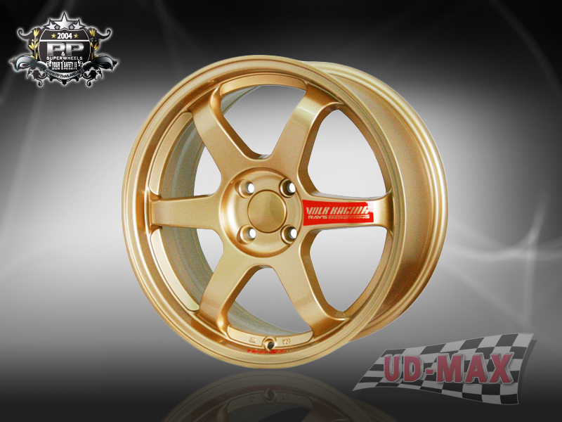 TE37 color GOLD