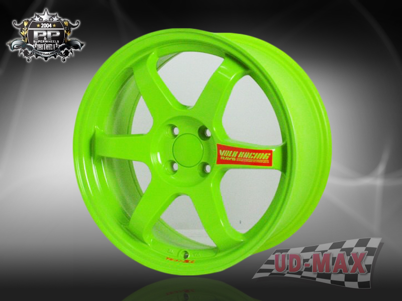 TE37 color GREEN