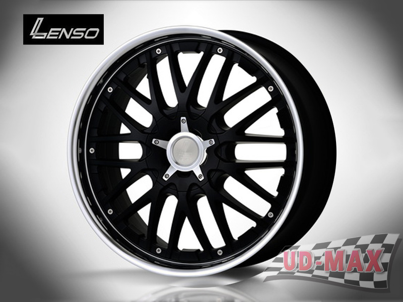 LENSO GRANDE 5 color Matt Black /M