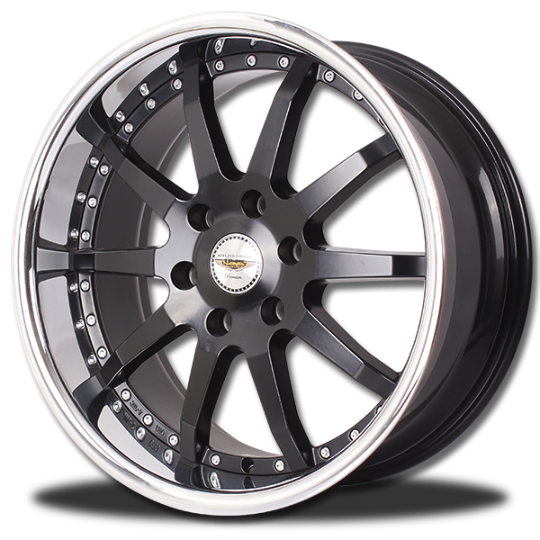 P&P Superwheels Verti color BK-MBKI