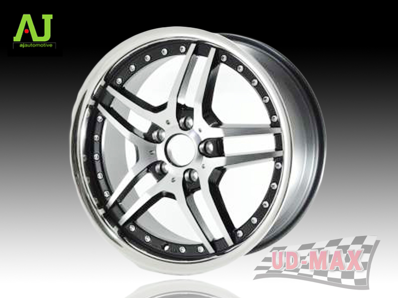 AJ INFORGED-IF4 color BLACK POLISH/STAINLESS LIP