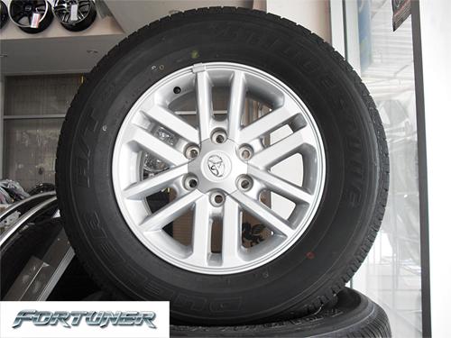 แม็กซ์ติดรถ Fortuner 2012 พร้อมยาง Bridgestone  คลิกรูปใหญ่