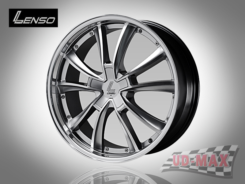 LENSO EURO STYLE 7_update color Hyper Silver with Full Face Polish