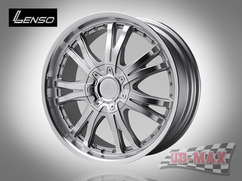 LENSO GRANDE 4 color Silver with Full Face Polish