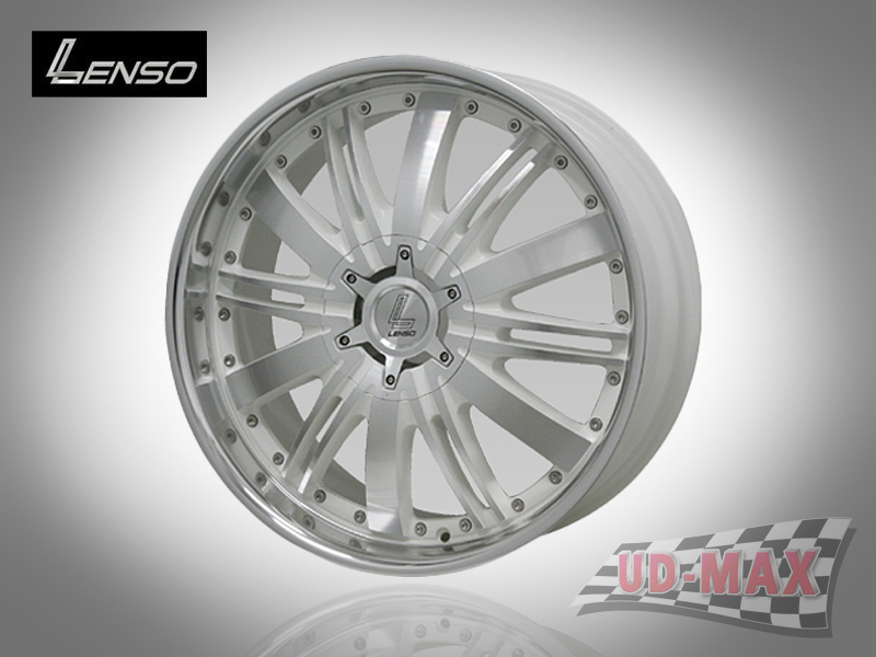 LENSO GRANDE 7_update color White with Full Face Polish & Mirror Lip