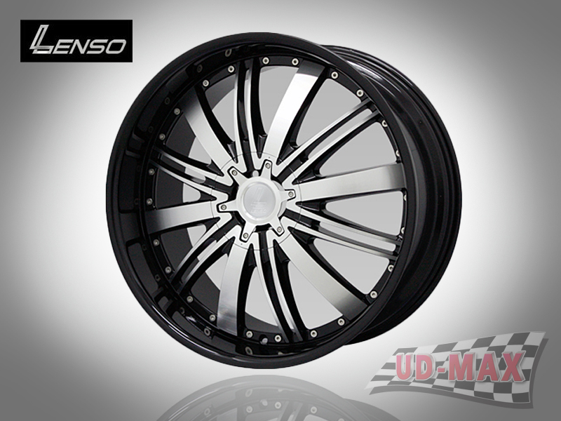 LENSO GRANDE 7_update color Black with Black Lip & Face Polish