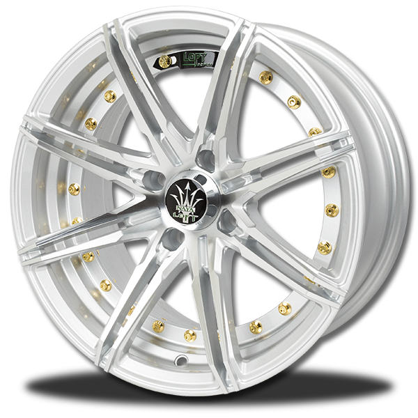 P&P Superwheels Rika 15Inch color S-P, BHCH, ((N))BLK/M5