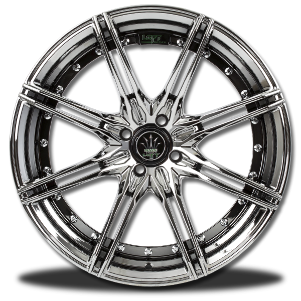 P&P Superwheels Rika 18Inch color BHCH, ((N))BLK/M5, ((N))B-P