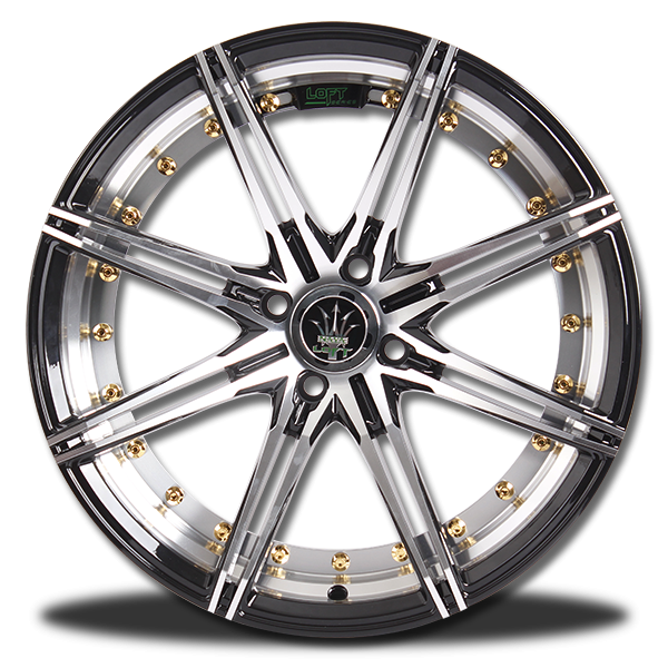 P&P Superwheels Rika 17Inch color BHCH, ((N))BLK/M5, ((N))B-P