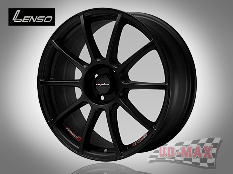 LENSO Project-D spec B color Matt Black