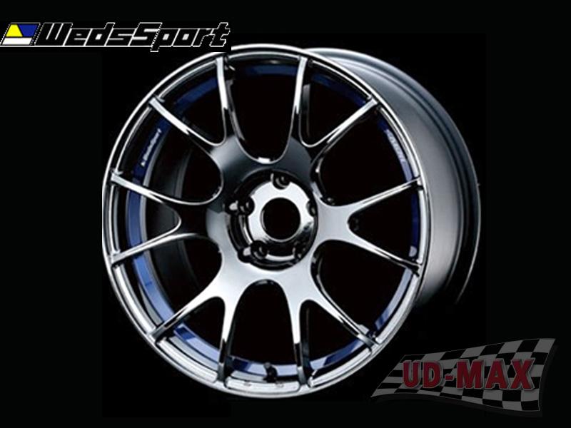Weds Sport SA67 color Gun Metalic /Blue Under Cut
