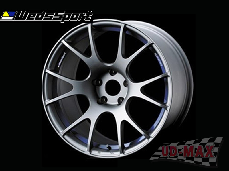 666CAR Weds Sport SA67 color Hyper Silver /Blue Under Cut