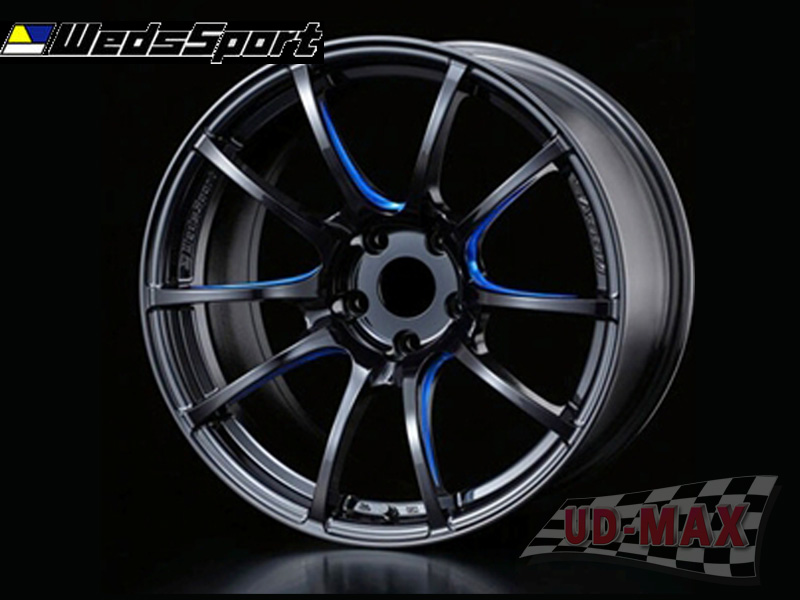 666CAR Weds Sport SA55 color Hyper Black /Blue Cut