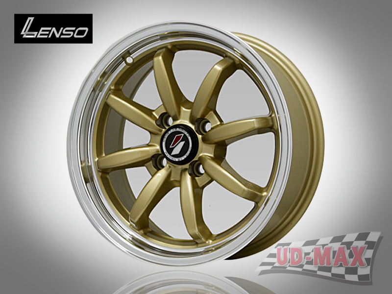 LENSO Project-D9_update color Gold with/Mirror Lip Polish