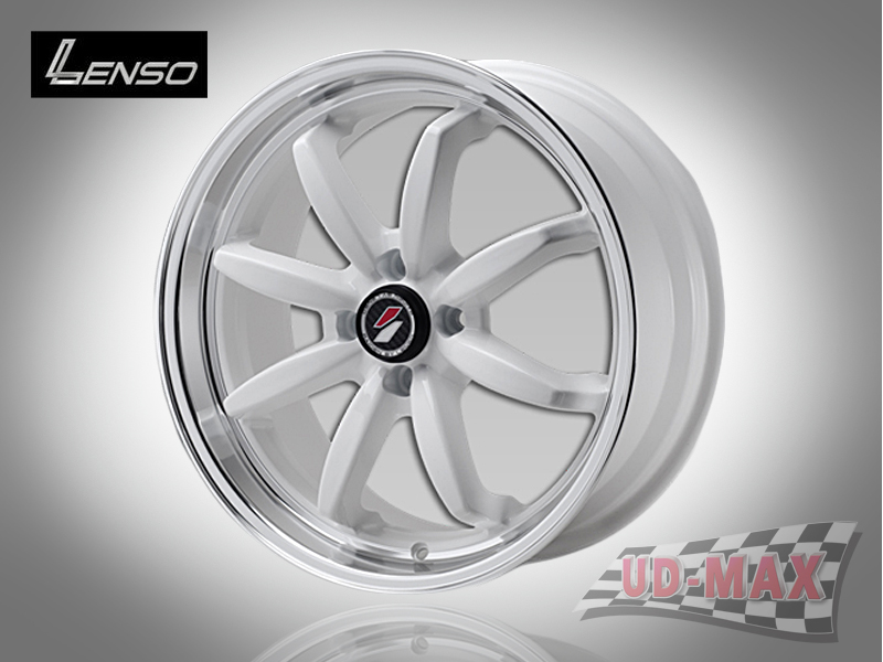 LENSO Project-D9_update color White with/Mirror Lip Polish