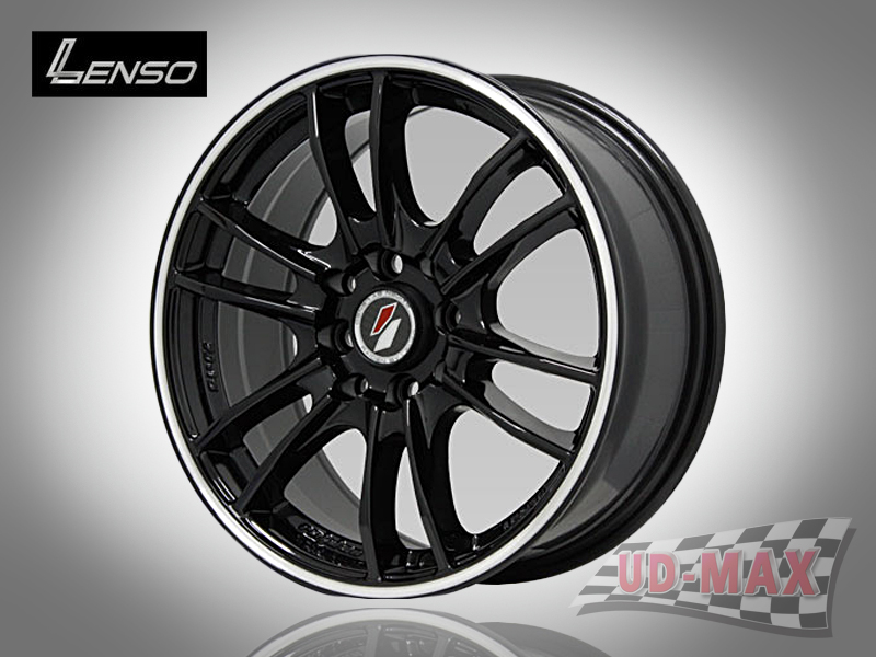 LENSO Project-D8 color Black/G