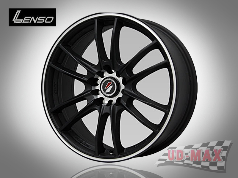 LENSO Project-D8 color Matt Black/J