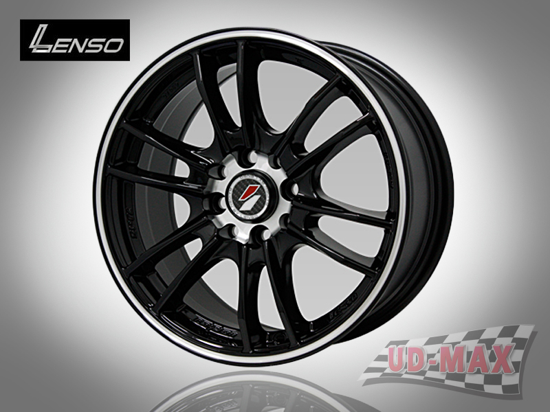 LENSO Project-D8 color Black/J