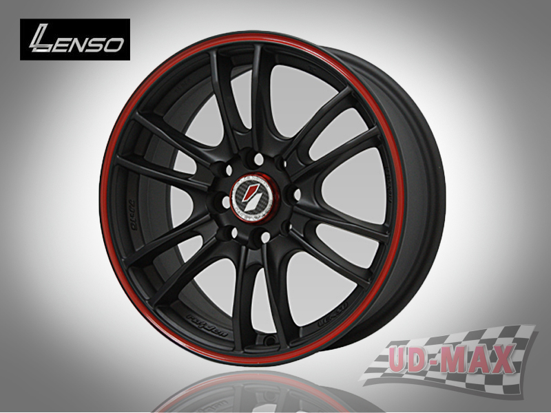 LENSO Project-D8 color Matt Black/RG