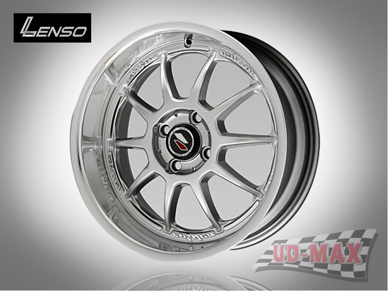 LENSO Project-D6 color Hyper Silver with Mirror Lip Polish