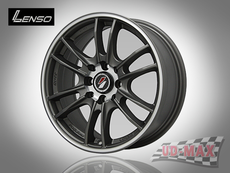 LENSO Project-D8 color Dark Grey/J