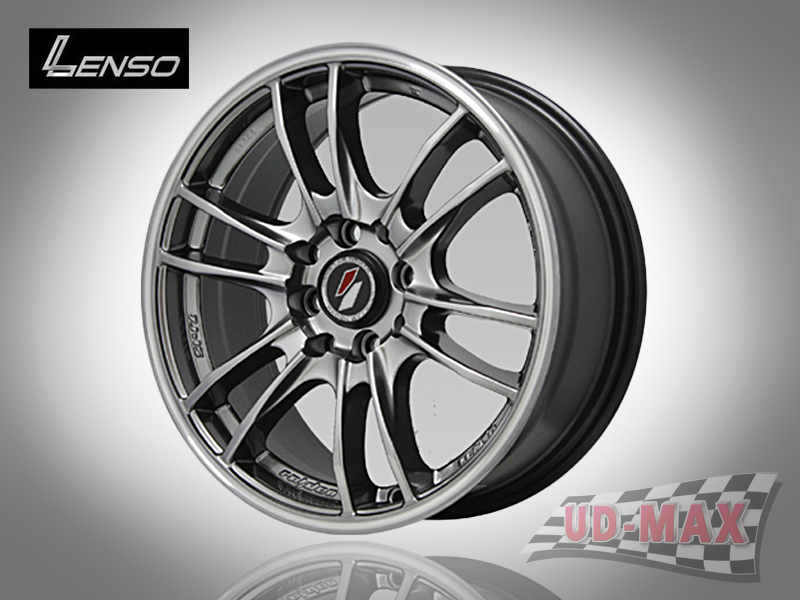 LENSO Project-D8 color Hyper Black/G