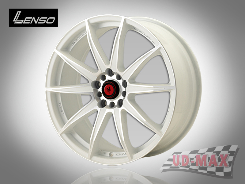 LENSO SAMURAI SC07 color White/Mirror Lip