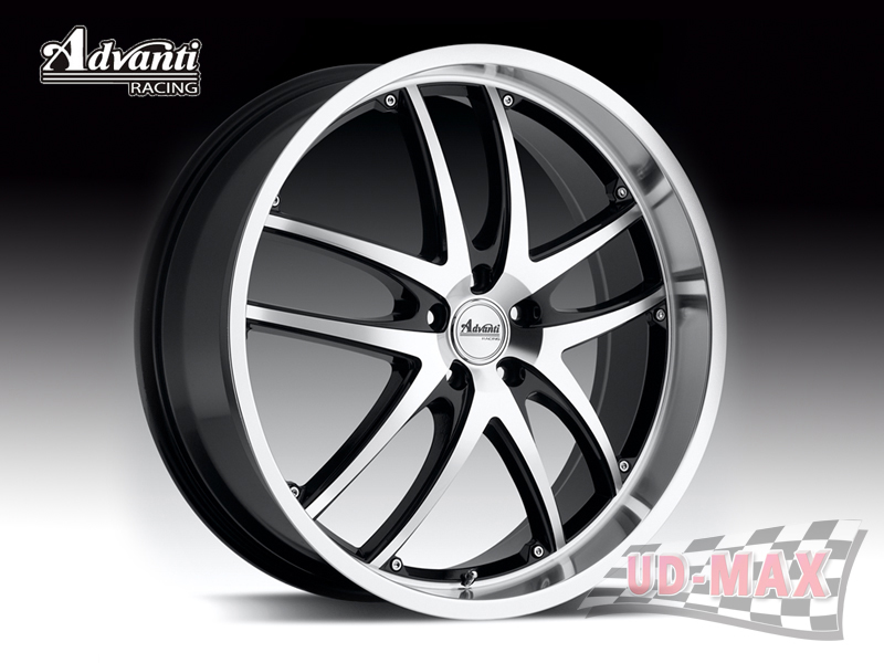 ADVANTI A3 MAUI color Gloss Black