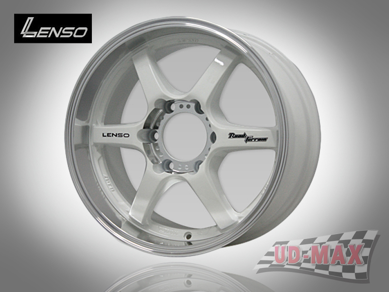 LENSO RT-X_update color White/K