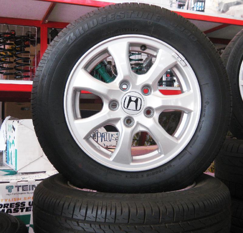 แม็กซ์ติดรถ HONDA CITY พร้อมยาง Bridgestone(UPDATE) แม็กซ์ติดรถ HONDA CITY พร้อมยาง Bridgestone 195/65R15 ปี 35/12  คลิกรูปใหญ่