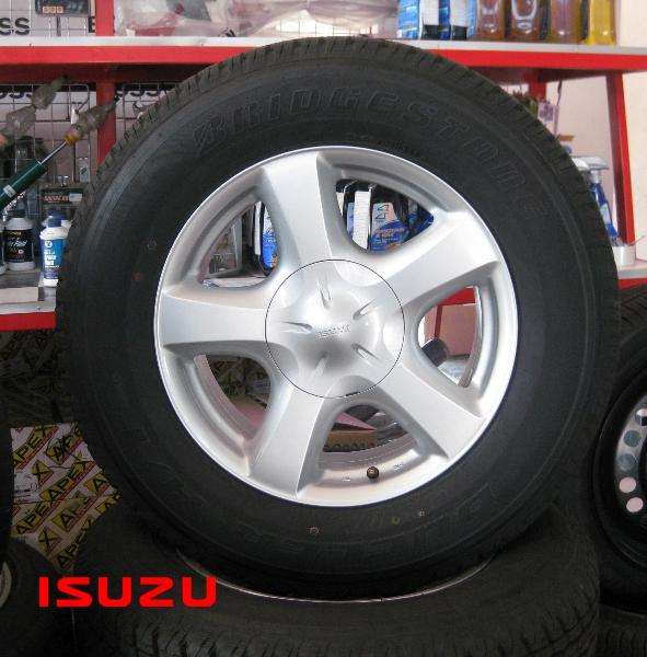 แม็กซ์ติดรถ ISUZU D-MAX พร้อมยาง BRIDGESTONE(UPDATE) แม็กซ์ติดรถ ISUZU D-MAX พร้อมยาง BRIDGESTONE 225/65 R17 ปี21/12 คลิกรูปใหญ่