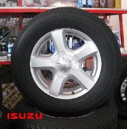 แม็กซ์ติดรถ ISUZU D-MAX พร้อมยาง BRIDGESTONE(UPDATE)