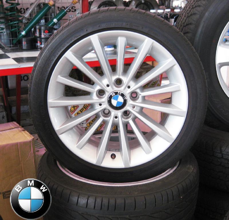 แม็กติดรถ BMW พร้อมยาง BRIDESTONE(UPDATE) แม็กติดรถ BMW พร้อมยาง BRIDESTONE 225/45R17 ปี 07/10 คลิกรูปใหญ่