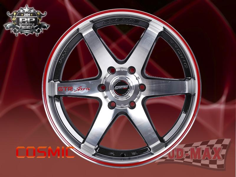 COSMIC_GTR-Sport color Silver /Red Lip