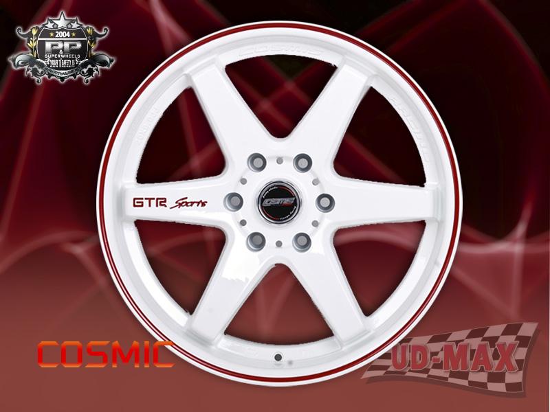 COSMIC_GTR-Sport color White /Red Lip