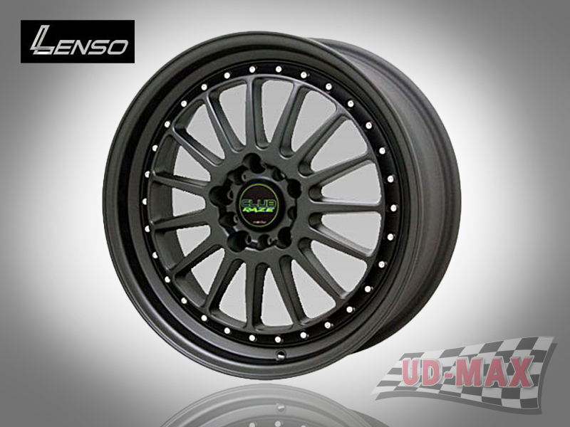 LENSO Club 4 color Matt Black/A