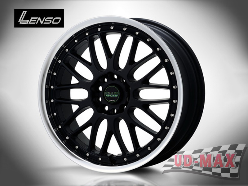 LENSO Club 4 color Black/K